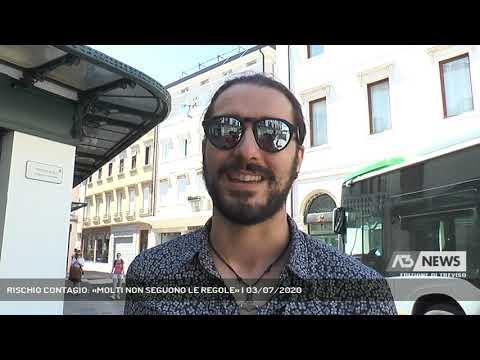 RISCHIO CONTAGIO: «MOLTI NON SEGUONO LE REGOLE» | 03/07/2020