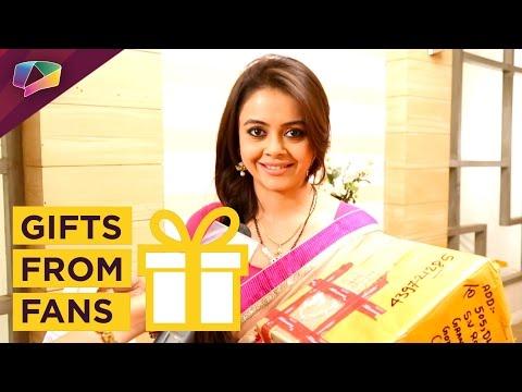 Devoleena Bhattacharya Receives Gifts From Her Fan