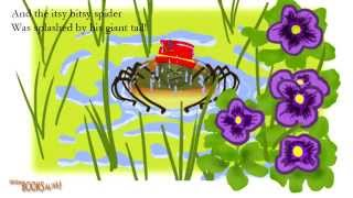Itsy Bitsy Spider On The Farm YouTube video