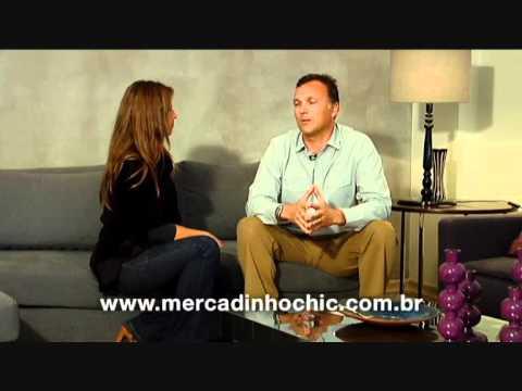 Entrevista com Alfredo Vanelli. Ele fala sobre o Núcleo Catarinense de Decoração.