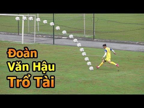Thử Thách Bóng Đá đi xem Đoàn Văn Hậu , Quang Hải , Bùi Tiến Dũng  U23 Việt Nam tập đấu U23 Brunei - Thời lượng: 10:05.