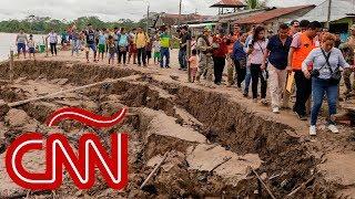 Así fue el sismo de gran magnitud que sacudió Perú y varios países de Sudamérica