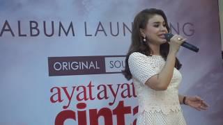 Launching OST Ayat Ayat Cinta 2   Rossa - Bulan Dikekang Malam