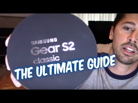 How to Setup Samsung Gear S2 Classic 4g watch Complete tips and tricks guide