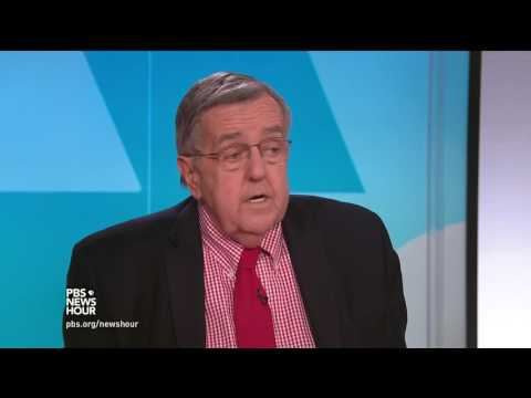 Shields and Brooks on Obamacare repeal failure, Gorsuch grilling (видео)