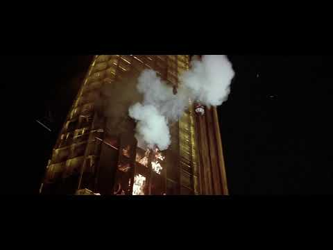 The Towering Inferno - Scenic Elevator Explosion/Lisolette's Fall