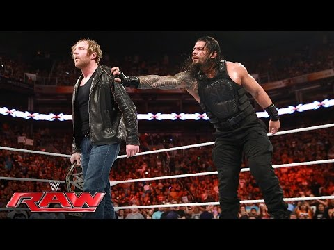 Video Roman Reigns vs. Seth Rollins: Raw, June 20, 2016 download in MP3, 3GP, MP4, WEBM, AVI, FLV January 2017