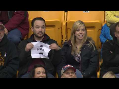 Watch What Happens When The Kiss Cam Lands On A Brother and Sister!