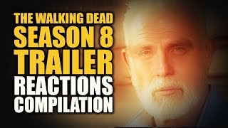 """A Compilation of great reactions from some of your favorite fans and reactors for the action packed The Walking Dead season 8 trailer. """"I hope you have your shitting pants on. Your shitting pants. I hope you're wearing them right now... Because you're about to shit your fucking pants.""""link to the original AMC video:https://www.youtube.com/watch?v=3l82kiUvnKMIt's all-out war in Season 8. Don't miss the Season 8 Premiere of The Walking Dead, Sunday, October 22 at 9/8c on AMC.Videos of amazing fans and creators that made the compilation possible, please visit and subscribe to their channels:thedarkfoxcannon - https://youtu.be/AfcDjKteUU4The Reel Rejects - https://youtu.be/lHVbm1wIek4Tyrone Magnus - https://youtu.be/dgSjWtcPuVksesskasays - https://youtu.be/gvANcBwUErETorchwood Boy - https://youtu.be/EgkQicwKH1EMaria Rodriguez - https://youtu.be/HZLD2GsK_DUMake A Path Presents - https://youtu.be/u8TIWcqTsEEPeyton Reads - https://youtu.be/tD8cNaceQmUCraZCouple - https://youtu.be/Y7laxrxclfcNiles Reacts - https://youtu.be/n-z9OHMxOeUOfficer Friendly - https://youtu.be/IVtH_4nHA3cDiscussTheDead - https://youtu.be/UswvQ-_gFYcThe Walking Bread - https://youtu.be/9osEUAs4WioTori Flacco - https://youtu.be/17KOF9us6wQPhysicalGamerz - https://youtu.be/smVy-YExuXwMareckProductions - https://youtu.be/l4U91P_XPDkCoxinha Nerd - https://youtu.be/8PH3V1SlEtwJuliDG REACTION - https://youtu.be/WYjIaqW-I8cAnthony Knight - https://youtu.be/NhTRGuCXef8Anthony Rodriguez - https://youtu.be/i5d-9NgcQfoKrazyNynjaReacts - https://youtu.be/PkYhRJFQj74Bernie and Willie - https://youtu.be/tdw2xGrPHosTrevschan2 - https://youtu.be/8b9l94h53VAtheKnifestalker - https://youtu.be/JbLPai-y8MMEP1CGusher - https://youtu.be/QxLP361qklQJor-Els Alexandria - https://youtu.be/hIqj8sR2vtUGorTheMovieGod - https://youtu.be/VeBxJBCTKXIiThunda - https://youtu.be/K25E3_C1rrcZGoldenReport - https://youtu.be/5zUq5UR75h0BOOM! Reviews - https://youtu.be/DYKUT5HVi7MThe Nerdy Blasian - https://youtu.be/R2edkSUkNXoLevel99 - """