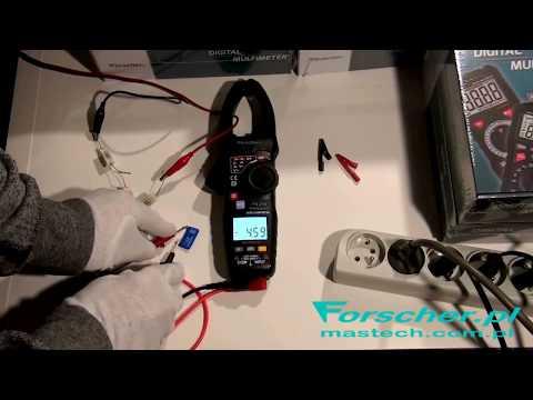Forscher FS215 intelligent clamp multimeter