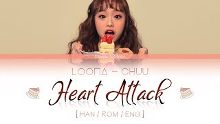 Video LOONA Chuu - Heart Attack LYRICS [Color Coded Han/Rom/Eng] (LOOΠΔ/이달의 소녀/츄 ) MP3, 3GP, MP4, WEBM, AVI, FLV Juni 2018