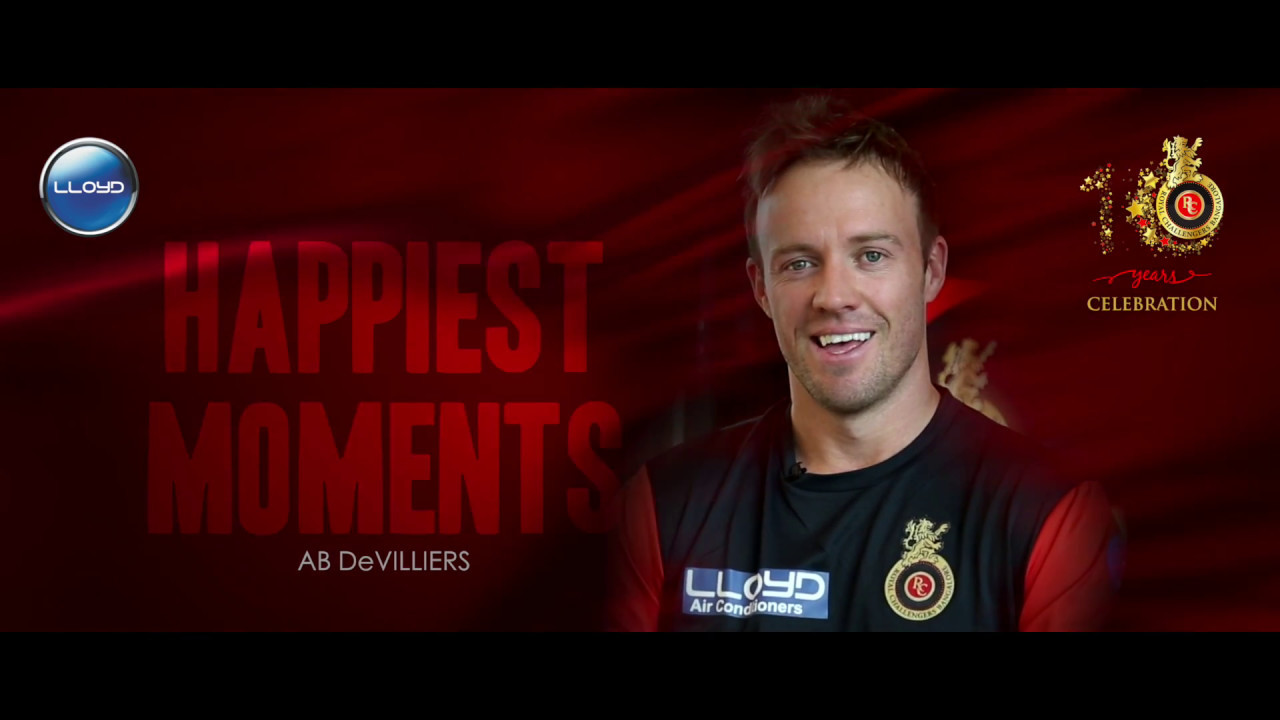 Lloyd presents AB de Villiers's Happiest Moments | VIVO IPL 2017