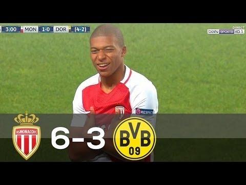 Monaco vs Borussia Dortmund 6 3 All Goals & Highlights 19 04 2017 FULL HD