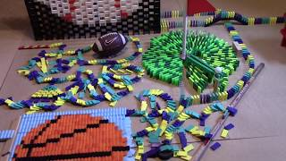 DUDE PERFECT IN 8,000 DOMINOES! w  Flashdomino