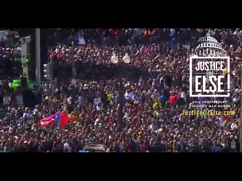 Justice or Else! - Million Man March 20th Anniversary - English