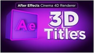 In this After Effects CC 2017 Tutorial, learn how to create 3D Titles with the new Cinema 4D Renderer. The new Cinema 4D Renderer within After Effects CC 2017 allows you to create 3D text and logos in After Effects, without leaving After Effects. This new feature is great for creating 3D text animations and 3D logos animations all within After Effects CC 2017. The new Cinema 4D renderer is a simpler version of working in 3D, using the Cinema 4D Lite renderer, without needing to fully understand working in Cinema 4D or Cinema 4D Lite. This Cinema 4D Renderer for After Effects CC 2017 is also a great stepping stone to get into 3D for After Effects users.Be sure to check out the new product, 360° Environment Maps Pro for After Effects, Cinema 4D Lite, and Element 3D in the online store:  http://www.motiontutorials.net/store/Check it out for Cinema 4D / C4D Lite:  http://tiny.cc/bqmbcyCheck it out for Element 3D for AE:  http://tiny.cc/1qmbcyIntro music Created by Osevera: www.SoundCloud.com/OseveraLearn about other new features in Creative Cloud 2017:Live Text Templates in After Effects & Premiere Pro CC 2017: http://tiny.cc/34fzgy3D Logos in After Effects CC 2017:Like this tutorial? Consider becoming a Patron at Patreon.com/SeanFrangella to get additional benefits such as project files and more! Be sure to check out http://www.MotionTutorials.net for weekly tutorials on Cinema 4D, After Effects, Element 3D, Adobe Fuse and other cool motion graphics apps! This After Effects CC 2017  tutorial also covers 3D animation tips and tricks for the Cinema 4D Renderer.To get weekly Cinema 4D, Element 3D, After Effects, Motion Graphics, VFX, and 3D animation tutorials be sure to subscribe!http://www.youtube.com/subscription_center?add_user=SEANFRANGELLA Check out the Top 5 Features of Element 3D V2 for After Effects!http://tinyurl.com/p3g4nwqLearn about the Top 5 After Effects Expressions:http://tiny.cc/unbzgyCheck out the Top 5 Tips for creating Camera Animation in After Effects:http://tiny.cc/5nbzgy