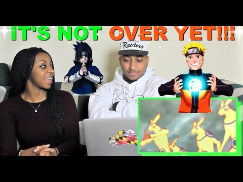 Naruto vs Sasuke - Last Battle (Part 2) Reaction!!!