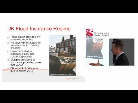 Verringerung der Auswirkungen von Überschwemmungen - Professor David Sprüche