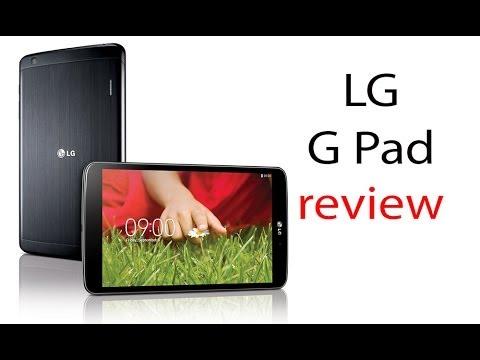 LG G Pad 8.3 review: Características y Funciones