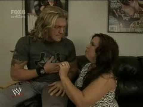 Edge & Vickie Backstage-27/6/08