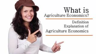Agricultural Economics Definition   Definition & Explanation of Agriculture Economics Audio Book