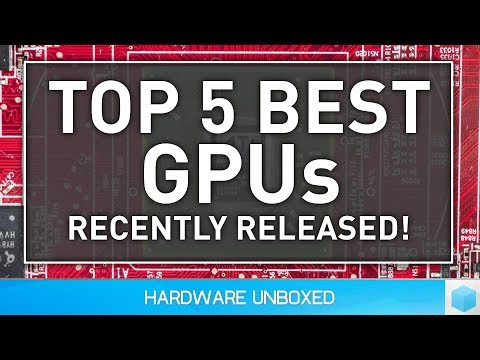 Top 5 Best GPUs, The Best In Recent Years! (видео)