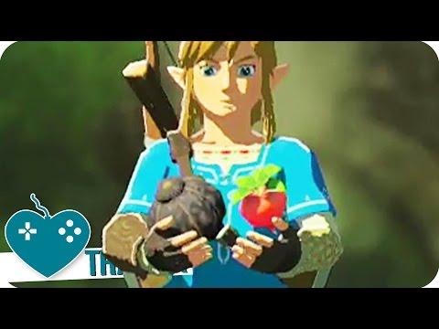 The Legend of Zelda : Breath of the Wild - Gameplay de cuisine