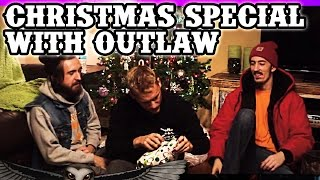 "^^^ SUBSCRIBE TO OUR CHANNEL FOR MORE! ^^^Here ya go folks, our Christmas Special Vlog! Hubb and Tarr give each other some real shitty redneck Christmas gifts, and Outlaw assists. Watch til the end to see the final winner of the Redneck Souljers $50 package giveaway. If you'd like to purchase the $25 or $50 packages mentioned in the video, click the links below!!$25: http://rednecksouljers.bigcartel.com/product/25-blowout-box$50: http://rednecksouljers.bigcartel.com/product/50-blowout-boxOfficial Site: http://www.rednecksouljers.comMerch: http://www.rednecksouljers.bigcartel.comFacebook: http://www.facebook.com/rednecksouljersTwitter: http://www.twitter.com/rednecksouljersInstagram: http://www.instagram.com/rednecksouljersVevo: http://www.youtube.com/rednecksouljersvevoSoundcloud: http://www.soundcloud.com/rednecksouljersWatch 'Backwoods Badass' here: http://youtu.be/WbpxB-RlANcDownload our debut album on iTunes!http://smarturl.it/TillerGangiTunesDownload our single ""Bounce"" on iTunes:http://smarturl.it/RSBouncePersonal Facebooks:http://www.facebook.com/100004078781018http://www.facebook.com/CHubbRShttp://www.facebook.com/outlawdipper"
