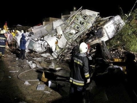 plane - A plane landing in stormy weather crashed outside an airport on a small Taiwanese island late Wednesday, and the transport minister said 47 people were trapped and feared dead. (July 23) Subscribe...