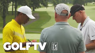 Prepping with Joe LaCava at the BMW Championship by PGA TOUR