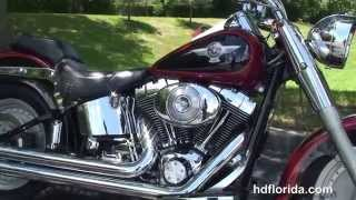 7. Used 2006 Harley Davidson FLSTF FatBoy Motorcycles for sale *