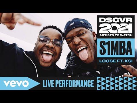 S1mba - Loose ft KSI (Live)   Vevo DSCVR Artists to Watch 2021