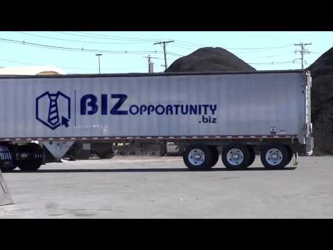(165) A Great Home Based Business Idea Is Promoted On This Truck
