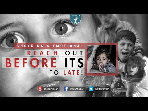Reach Out BEFORE its to LATE! - Shocking & Emotional