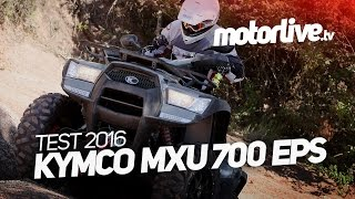 5. KYMCO MXU 700 EPS  2016 - Encore plus facile ! | TEST