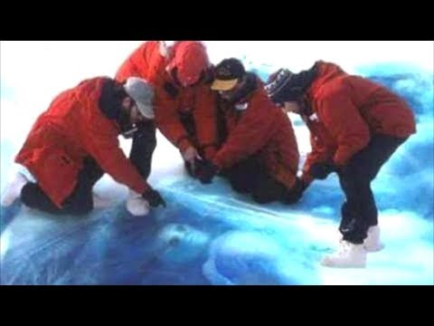 العرب اليوم - شاهد: العثور على كائنات فضائية مجمدة بالقطب الجنوبي!!