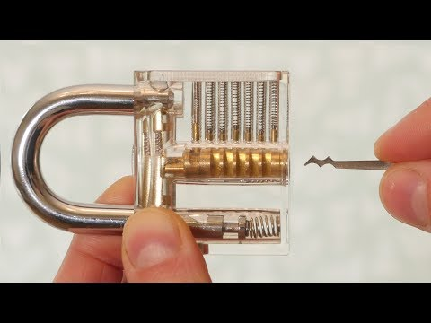 How to Pick a Padlock