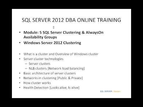 SQL DBA & MSBI (SSIS,SSAS,& SSRS) Online training @ SQLServerMasters.com