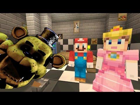 Minecraft Wii U - Super Mario Series - The Final Night at Freddy's [163]