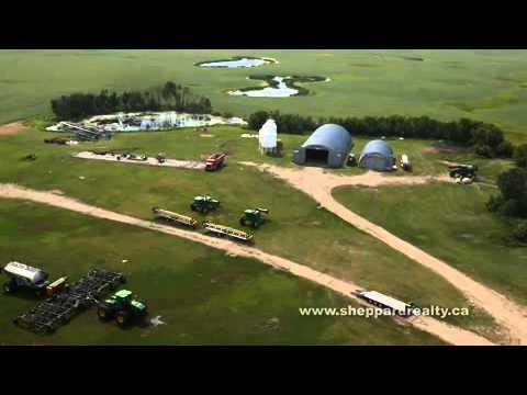 Farm for sale near Edgeley, SK (видео)