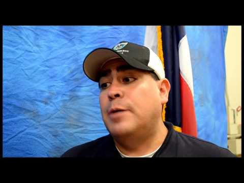 Interview with San Marcos Mayor Guerrero May 25, 2015 #SMTXFlood