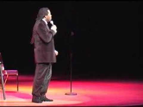 Tyler Performing At Damon Williams New Year's Eve Comedy Bas