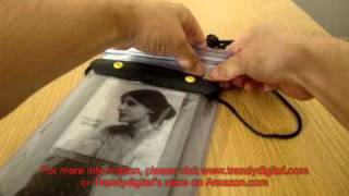 Using Kindle 3 in TrendyDigital WaterGuard Waterproof Case ( Including On/Off Switch)