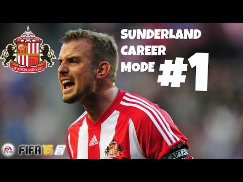 Sunderland - Hey guys welcome to the first episode of my Sunderland Career mode! We kick things off against West Bromwich Albion.