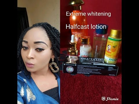 How To Make Half Cast Lotion/ 7 Days Extreme Whitening Lotion That Give You Spotless/Glowing Skin