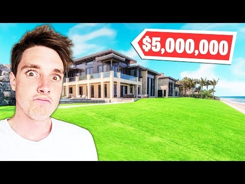 5 Fortnite YouTubers EXPENSIVE Mansions! (LazarBeam, Lachlan, Ali-A)