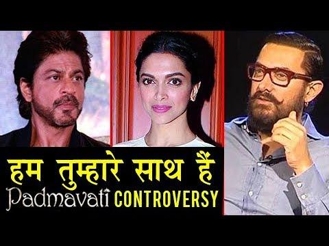 Padmavati Controversy: Shahrukh Khan, Aamir Khan R