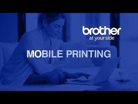 Brother Compact Black & White Laser Printer with Mobile Printing