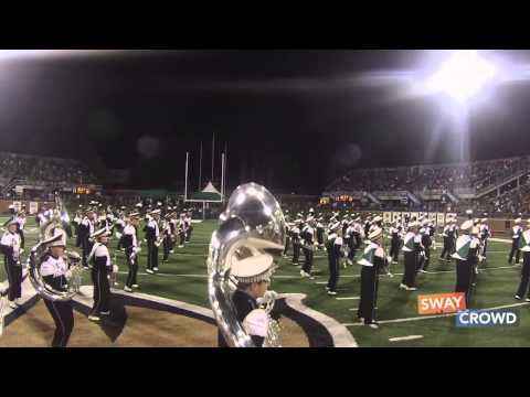 marching - The Ohio University Marching Band performs Ylvis'