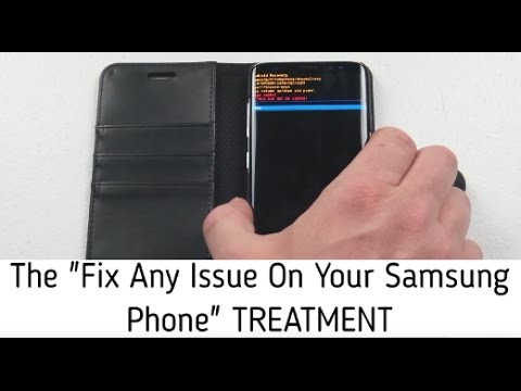 "The ""Fix Any Issue After Update"" for SAMSUNG Treatment"